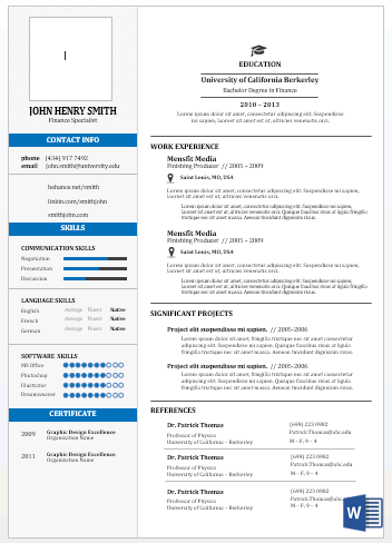 microsoft word resume templates professional job winning resumes